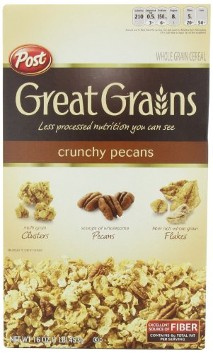 Great Grains Crunchy Pecan, 16-Ounce
