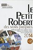 """Afficher """"Le Petit Robert des noms propres 2014"""""""