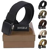JINSELF (ジンセルフ) S級永久ベルト 高品質 純正ナイロン100% 高強度 YKKバックル 軽量化 幅38mm 男性 メンズ ランキングお取り寄せ