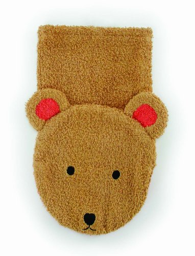 Brown Bear Washcloth Hand Puppet