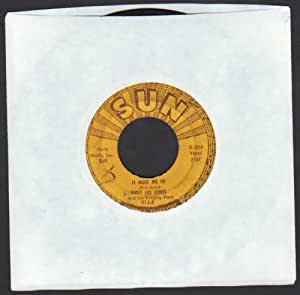 JERRY LEE LEWIS - it hurt me so/ i'll sail my ship alone SUN 312 (45 vinyl single record)