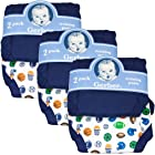 Gerber Training Pants (6-pairs), 18 Months, Boy's Colors, - Fits 24-28 lbs.