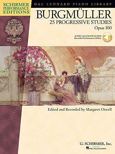 Burgmuller: 25 Progressive Pieces (Schirmer's Library of Musical Classics)