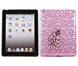 ITALKonline IMPERIAL CHROME PINK HARD MESH WIRED Hard TOUGH Protective Armour/Case/Skin/Cover/Shell for For Apple iPad 2 (2011) 2nd generation iPad 3