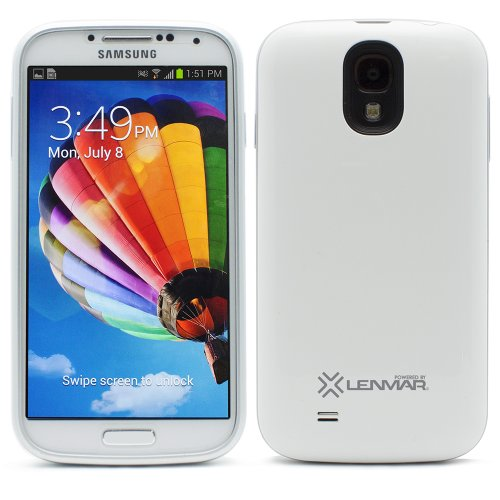 Lenmar Halo 2,600Mah Power Case For Samsung Galaxy S 4 - Retail Packaging - White
