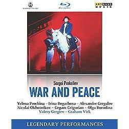 Prokofiev: War and Peace - Kirov Opera, St. Petersburg, 1991 [Blu-ray]