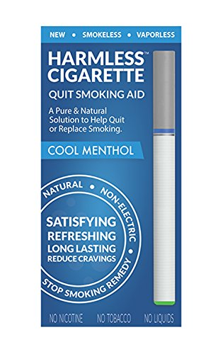 Harmless Cigarette Therapeutic Solution / Quit Smoking Aid to Help Quit & Replace Smoking / Easy Way To Quit / Best Stop Smoking Product