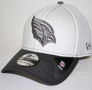 Arizona Cardinals New Era 39THIRTY Blitz Neo Fitted Hat - Gray by New Era