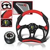 MITSUBISHI ECLIPSE 1998 JDM STEERING WHEEL WITH ADAPTER HUB KIT AND HORN BUTTON