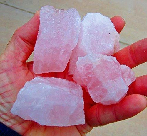 rose-quartz-1-2-lb-lot-of-medium-size-stones-pink-quartz-crystal-mineral-specimens-natural-rose-quar