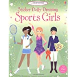 Sport Girls: Sticker Dolly Dressing (Usborne Sticker Dolly Dressing)by Fiona Watt