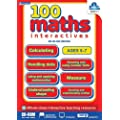 Didax 100 Interactive Math Activities CD, Grade 1-2