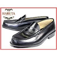 【ハルタ】HARUTA 9064 黒 [超ゆったり幅4E]  メンズ本革ローファー [24.0-27.5cm]