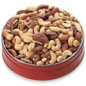 12-oz. Deluxe Mixed Nuts Gift Tin from Wisconsin Cheeseman