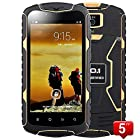 NO.1 X-Men X1 5 IP68 Unlocked 3G Rugged Smartphone 1.3GHz Quad-Core Dual SIM Android 4.4 Capacitive Screen GPS Waterproof Dustproof