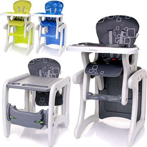 2IN1-Hochstuhl-Tisch-Stuhl-SET-umbaubar-Baby-Kind-6-Monate-bis-6-Jahre