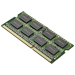 PNY 4 GB DDR3 1333MHz (PC3-10666) 204-Pin Notebook SO-DIMM, Single (MN4096SD3-1333)