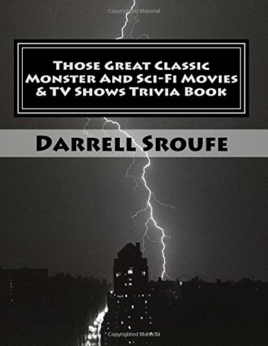 Classic Book Covers Quiz : Those great classic monster and sci fi movies tv shows