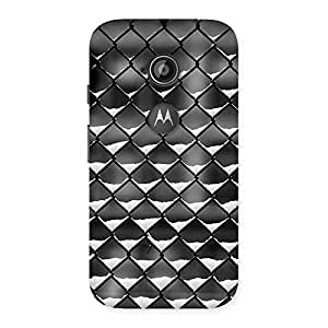 Impressive Cage Snow Back Case Cover for Moto E 2nd Gen