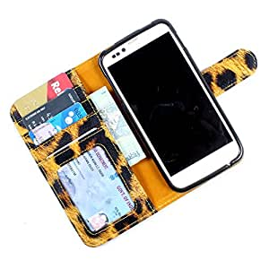 i-KitPit PU Leather Wallet Flip Case Cover For Samsung Galaxy S Duos 2