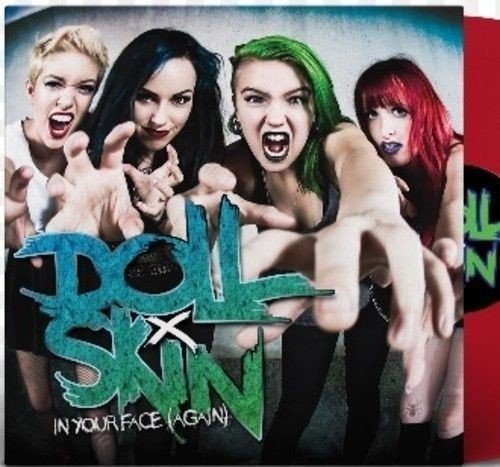Vinilo : Doll Skin - In Your Face (again) (Colored Vinyl)