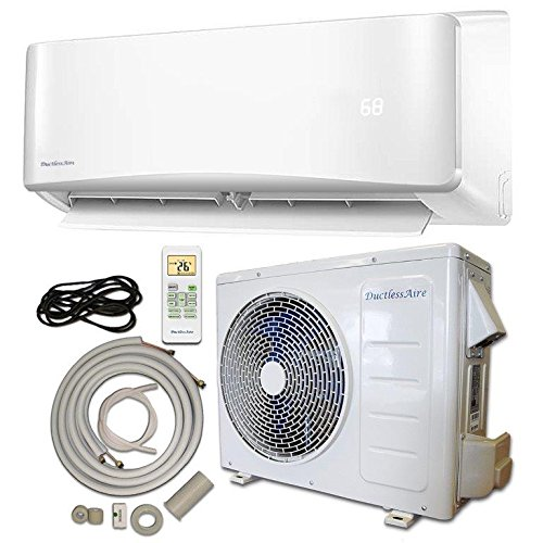 Energy Star 24,000 BTU 2 Ton Ductless Mini Split Air Conditioner and Heat Pump Variable Speed Inverter - 220V/60Hz (Electric Heater Energy Star compare prices)