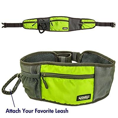Dog Treat Belt - Has Multiple Zippered Pockets For Treats, Toys, Phone, Keys or Wallet ...