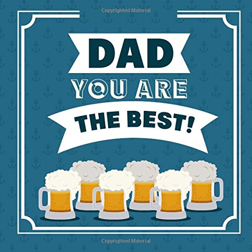 Dad, You Are the Best: Fathers Day Card X-Large/Notebook