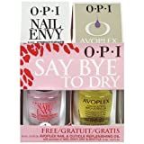OPI SAY BYE TO DRY SET