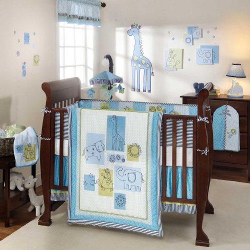 Lambs and Ivy Zootopia Baby Bedding