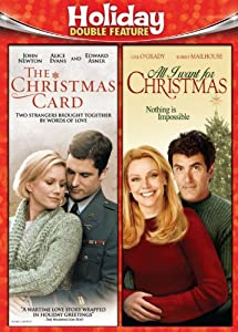 Holiday Double Feature Christmas Cardall I Want For Christmas from Vivendi Entertainment