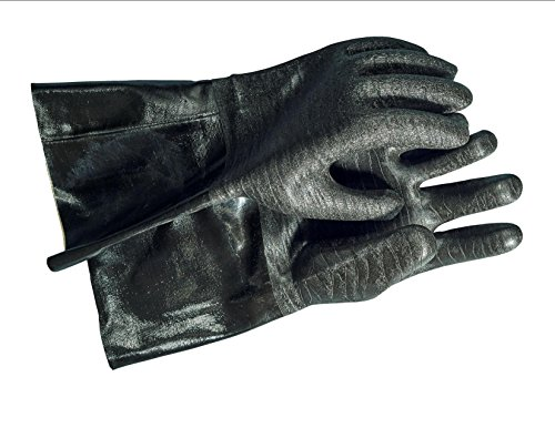 Artisan Griller Heat Resistant BBQ, Smoker, Grill, Oven and Cooking Gloves With Textured Palms, 1 pair (Heat Cooking Gloves compare prices)