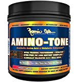 Ronnie Coleman Signature Series Amino-Tone, Stim-Free Fat Loss Support Complex and Anabolic Amino-Acid, Cherry Limeade, 390 Gram