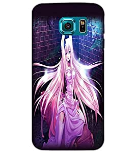 SAMSUNG GALAXY S6 BEAUTIFUL GIRL Back Cover by PRINTSWAG