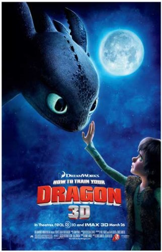 How to Train Your Dragon Poster Movie I (11 x 17 Inches - 28cm x 44cm) Jay Baruchel Gerard Butler America Ferrera Craig Ferguson Jonah Hill Christopher Mintz-Plasse