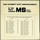 1966 Celebrity Spot Announcements in the Fight Against MS Multiple Sclerosis (VINYL LP Record) : Radio Transcription Spoken Word