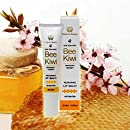 Bee Kiwi - Repairing Manuka Honey UMF20+ Lip Balm with Propolis, Lanolin, Shea Butter, Jojoba Oil, and Vitamin E