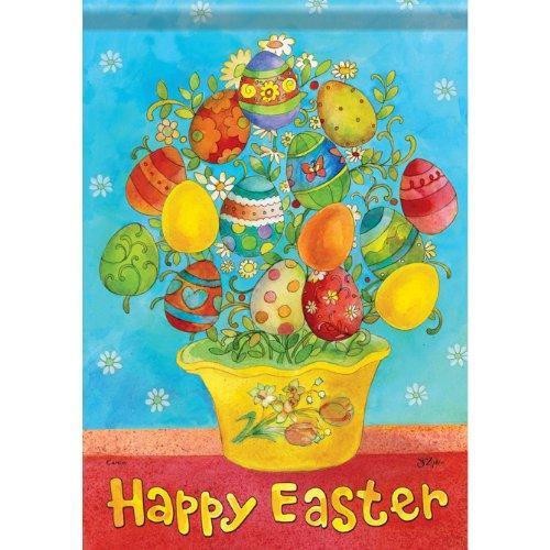 Carson Easter Tree Garden Flag 45383