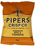 Pipers Crisps Wissingtons Spicy Tomato (Pack of 24)