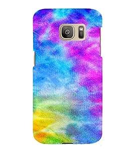 PrintVisa Modern Art Pattern 3D Hard Polycarbonate Designer Back Case Cover for Samsung Galaxy S7 Edge