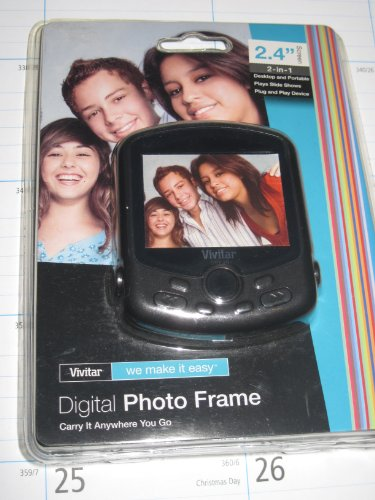 Vivitar Digital Photo Frame 2.4 Screen
