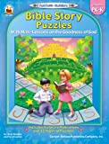 img - for Bible Story Puzzles, Grades PK - K: With Mini-Lessons on the Goodness of God (Fun Faith-Builders) book / textbook / text book