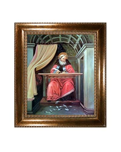 Sandro Botticelli St. Augustine In His Cell Reproduction Oil Painting