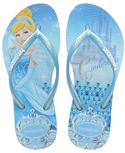 Havaianas Slim Princess Infradito, Bambina, Blu (Lavender Blue 1056), 29/30 EU (BR 27/28)