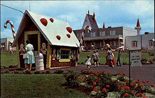 Dutch Wonderland Castle Gift Shop, U. S. Rt. 30 East Original Vintage Postcard