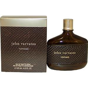 Amazon.com : John Varvatos Vintage By John Varvatos For Men. Eau De Toilette Spray 4.2 Oz. : Beauty