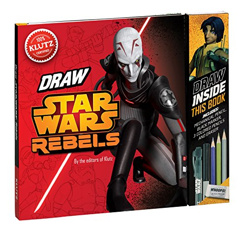 "Klutz Star Wars Rebels: Be a ""Trooper!"" Draw Right Inside This Book Craft Kit"