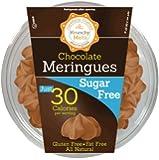 Krunchy Melts' Sugar Free Chocolate Meringue Cookies 2 Oz Tub