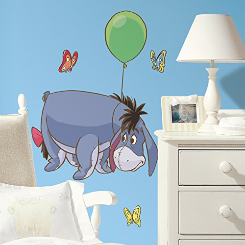 Roommates Rmk1503Gm Eeyore Peel And Stick Giant Wall Decal - 1