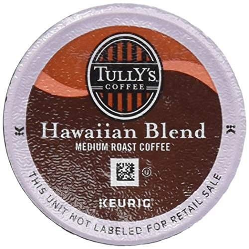 TULLY'S HAWAIIAN BLEND COFFEE K CUP 48 COUNT packaging may vary (K Cups Coffee Hawaiian Blend compare prices)
